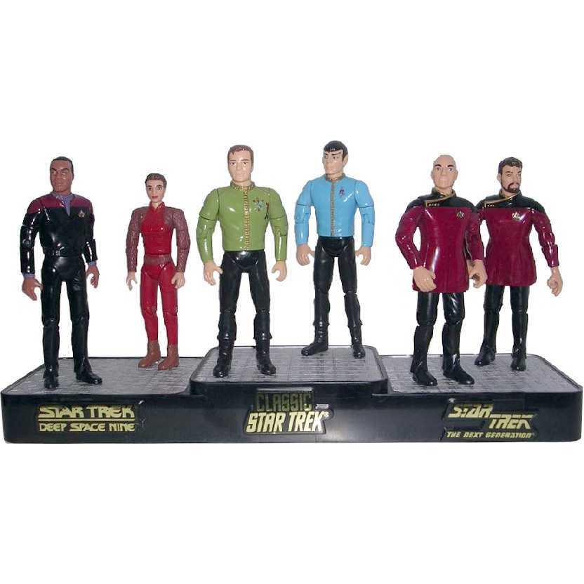 Star Trek Starfleet Officers Collectors Set D (1994) marca Playmates código 6190