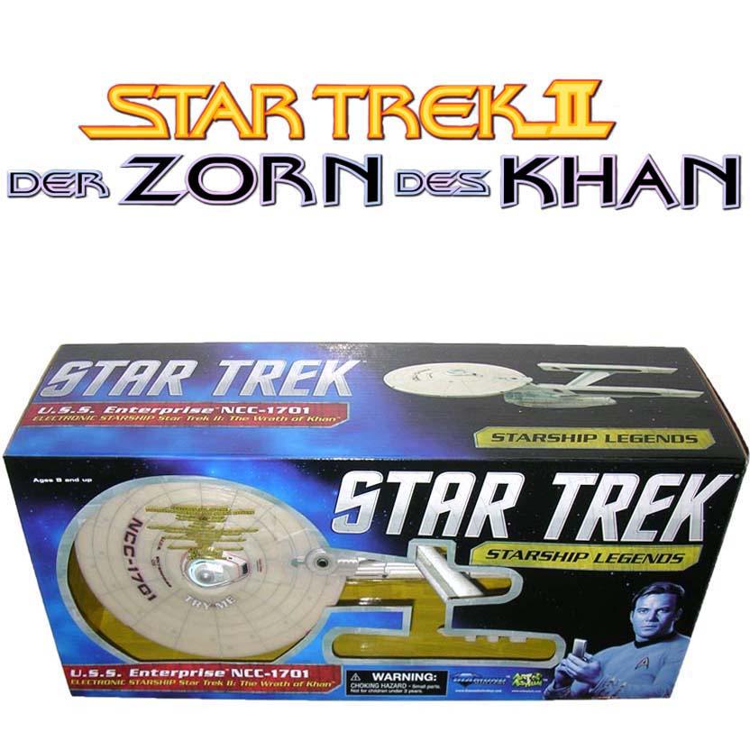Star Trek Starship Legends: U.S.S. Enterprise NCC-1701 Wrath Of Khan (c/ luz e som)