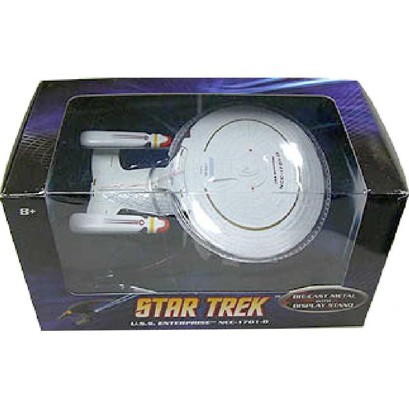 Star Trek USS ENTERPRISE NCC-1701-D Hot Wheels Metal escala 1/50 P8513