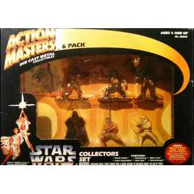 Star Wars Action Masters Darth, Luke, Boba, Chewbacca, Han Solo e Storm