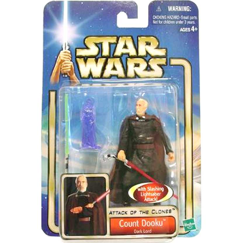 Star Wars Attack of The Clones Count Dooku Dark Lord - Hasbro action figure