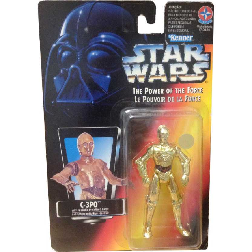 Star Wars C-3PO The Power of the Force Hasbro Action Figures