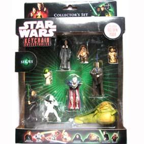 Star Wars coleção chaveiros (série 3) 9 pçs
