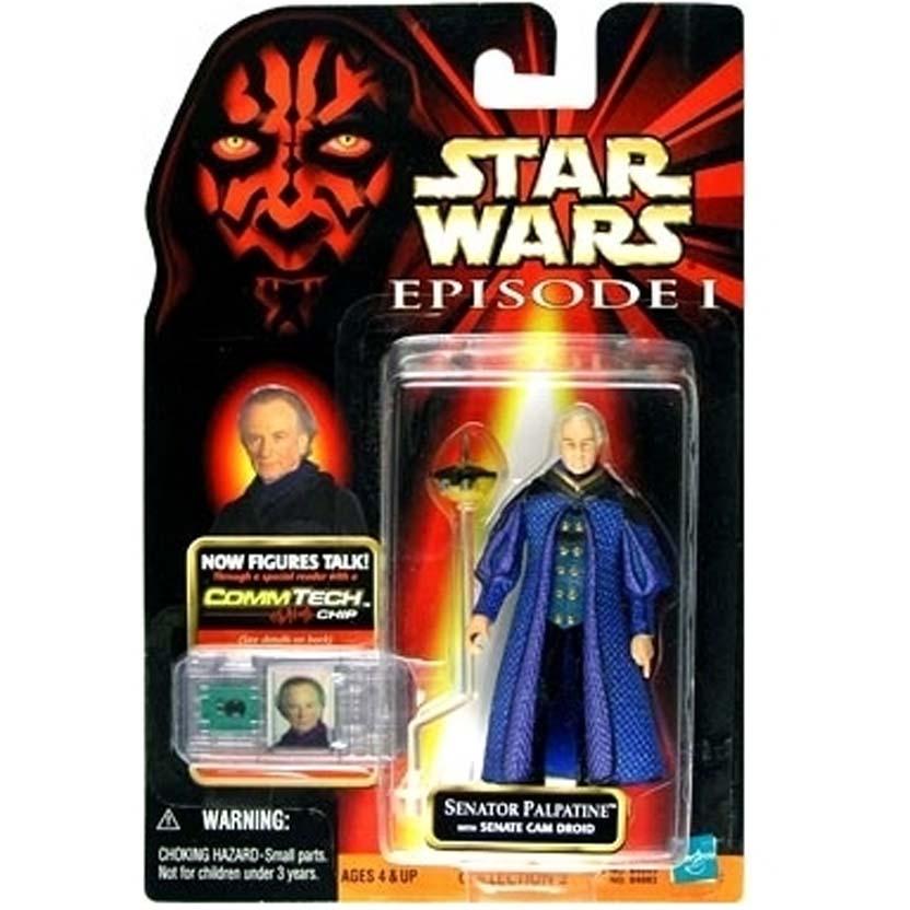 Star Wars Episode 1 - Senator Palpatine with Senate Cam Droid