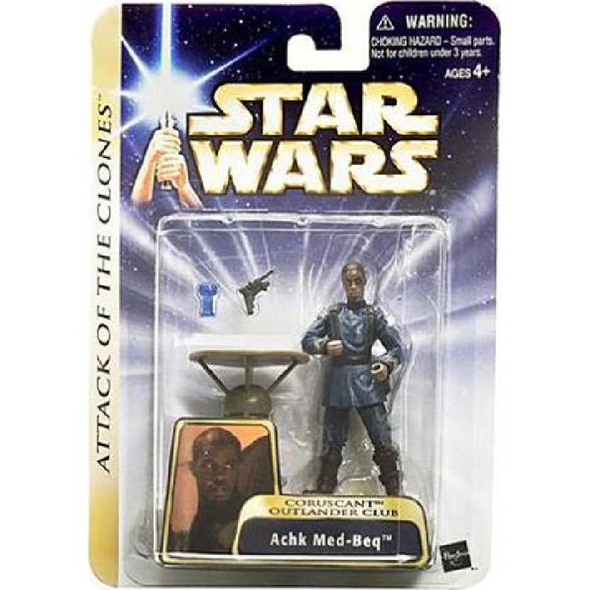 Star Wars: Episode 2 Achk Med-Beq Hasbro Action Figure