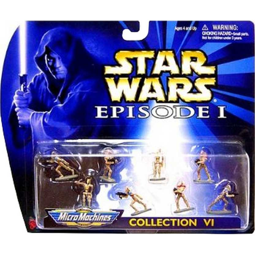 Star Wars Episode I - Battle Droids Collection VI - Micro Machines Galoob