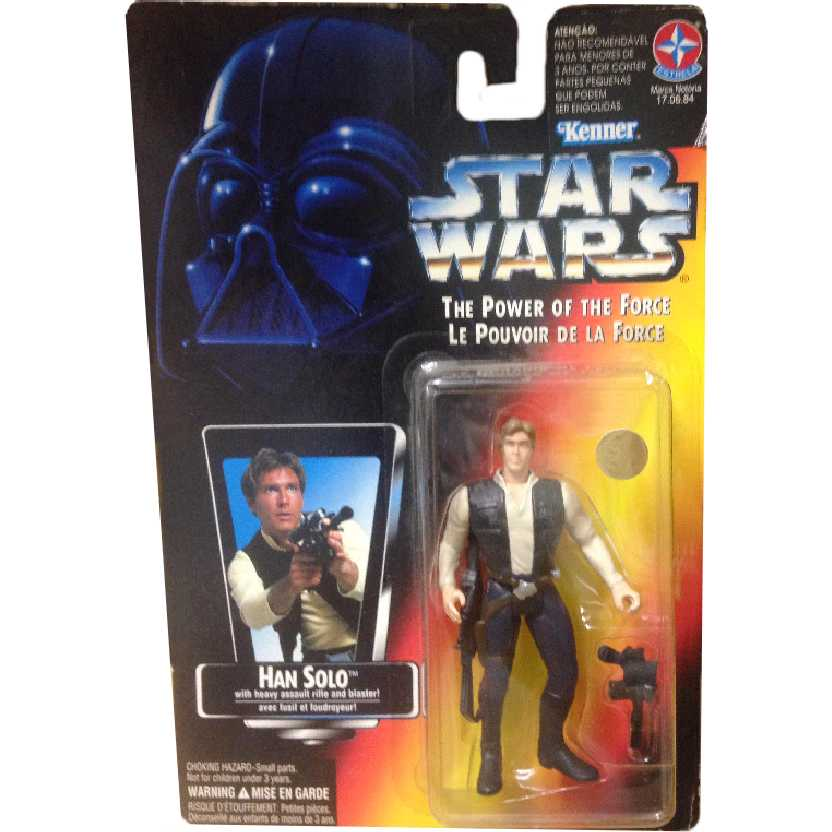 Star Wars Han Solo The Power of the Force Hasbro Action Figures