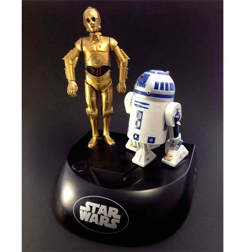 Star Wars R2-D2 e C-3PO Electronic Talking Bank Thinkway (1995)