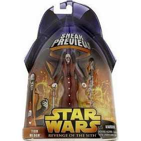 Star Wars Revenge of the Sith Sneak Preview Tion Medon
