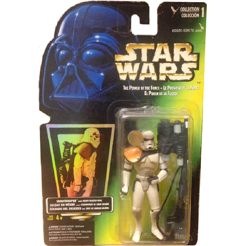Star Wars Sandtrooper The Power of the Force Hasbro Action Figures