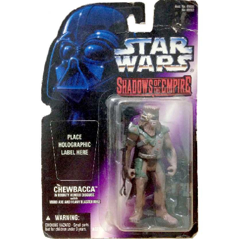 Star Wars Shadow of the Empire Chewbacca Bounty Hunter Disguise Kenner Action Figure