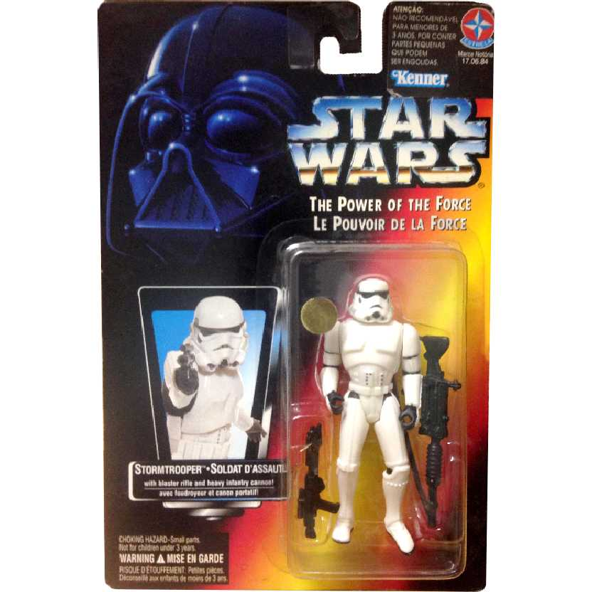 Star Wars Stormtrooper The Power of the Force Hasbro Action Figures