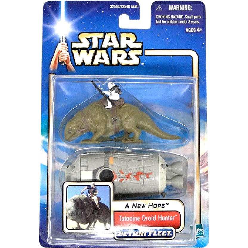 Star Wars Tatooine Droid Hunter Action Fleet Hasbro Action Figure