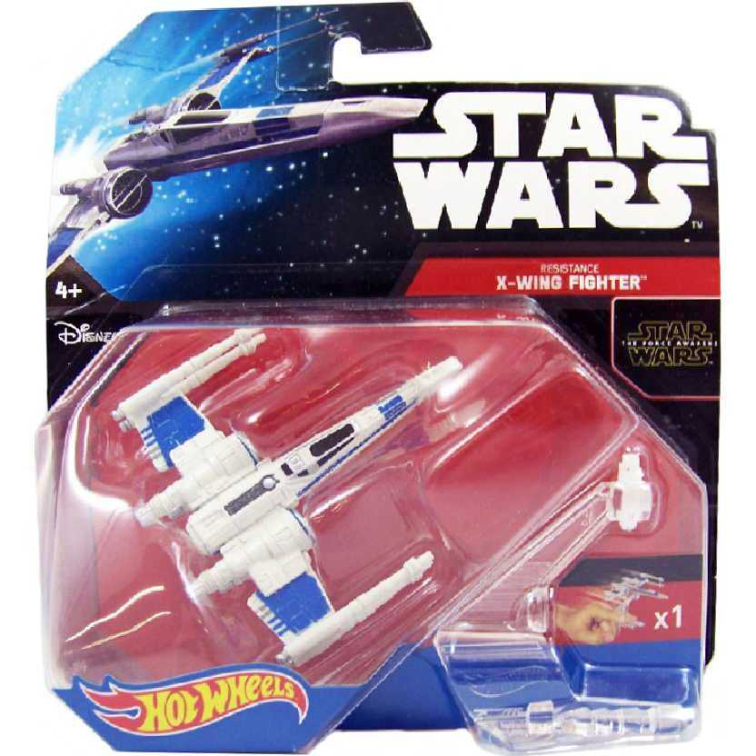 Star Wars The Force Awakens Resistance X-Wing Fighter nave do filme Guerra nas Estrelas