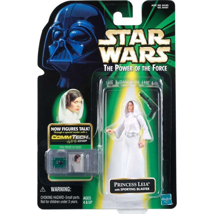 Star Wars The Power of The Force - Princess Leia with Sporting Blaster