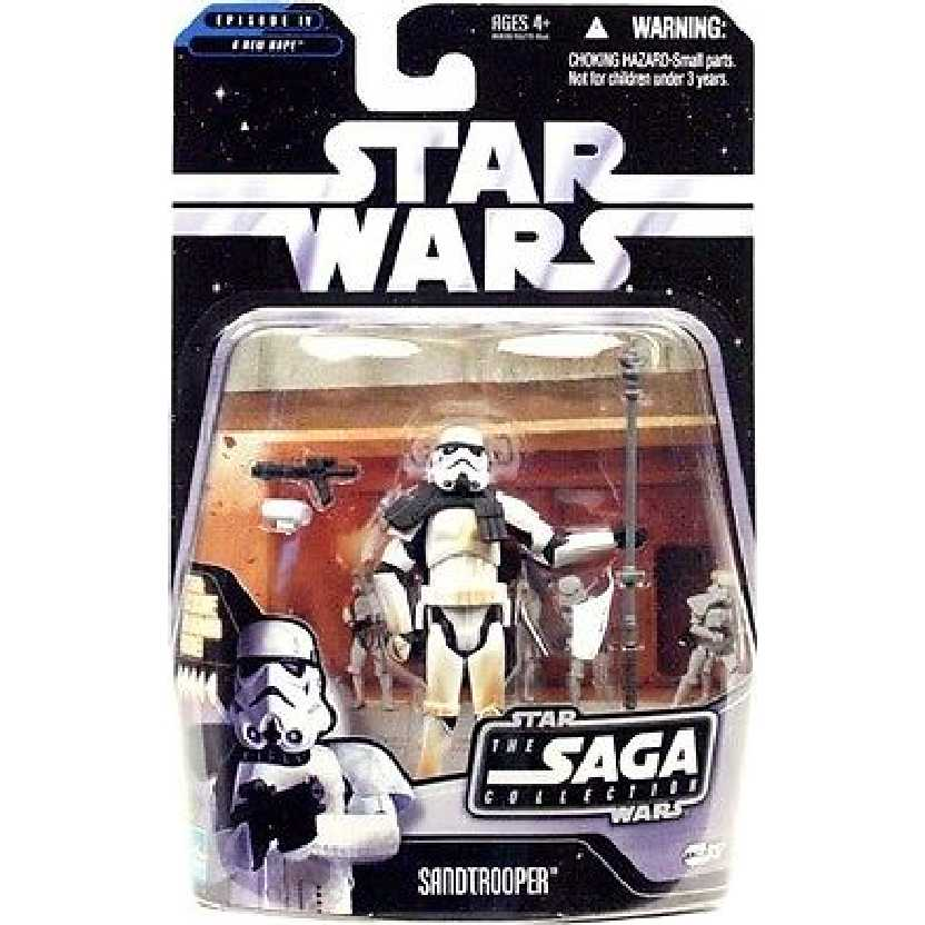 Star Wars The Saga Collection 037 Sandtrooper Episode IV Hasbro Action Figures