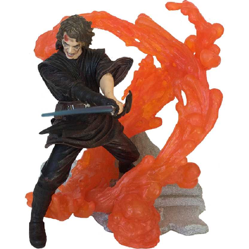 Star Wars Unleashed Guerra nas Estrelas Anakin Skywalker (aberto) Hasbro