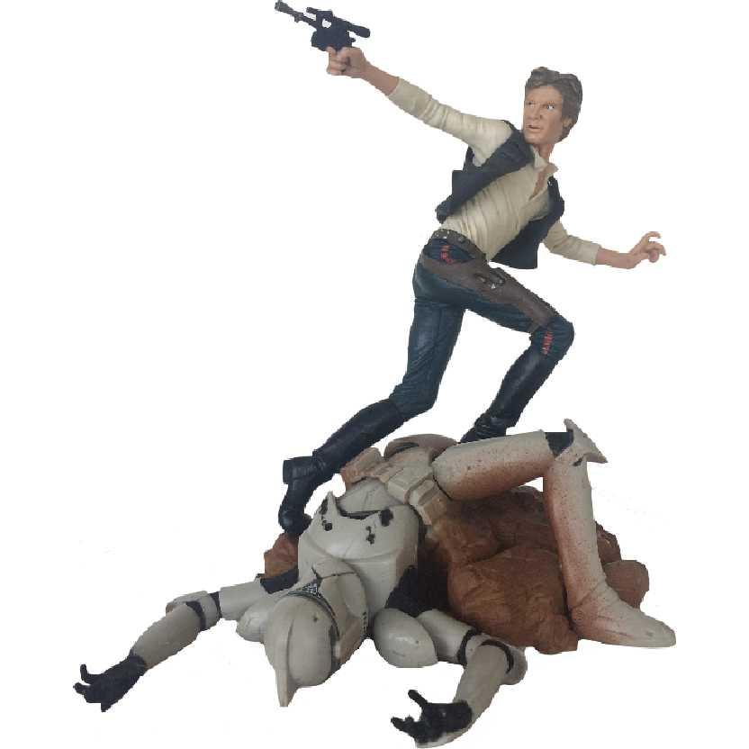 Star Wars Unleashed Guerra nas Estrelas Han Solo (aberto) Hasbro