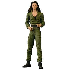 Stargate - Vala Mal Doran (no estado) apenas 2 armas e 1 rádio