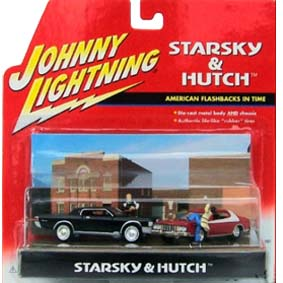 Starsky e Hutch- 2 autos e 2 figuras