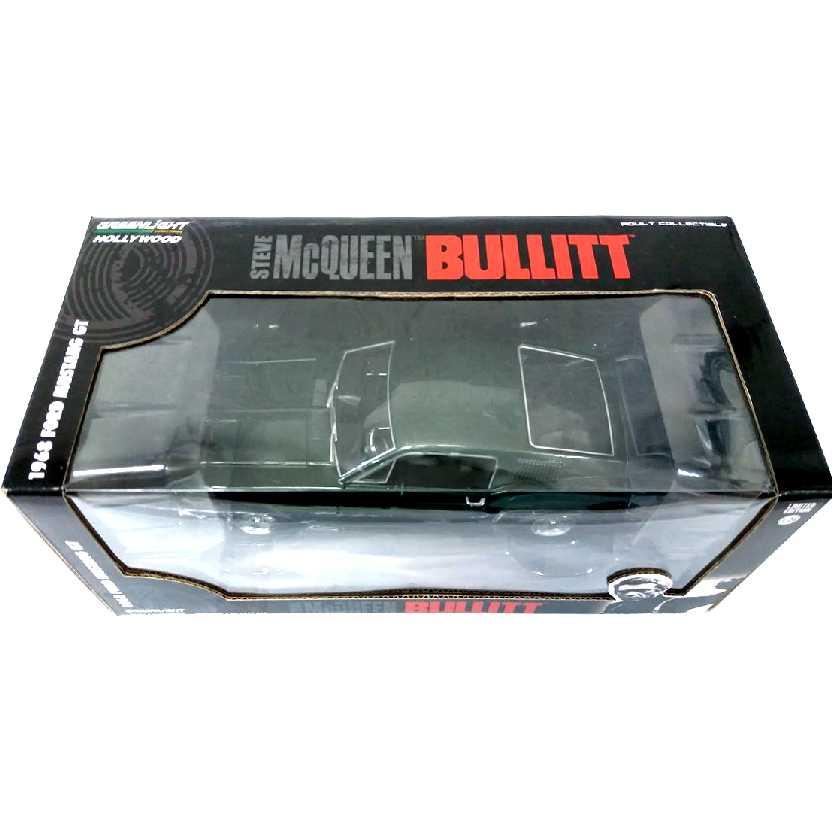 Steve McQueen Bullitt Ford Mustang GT (1968) marca Greenlight escala 1/24
