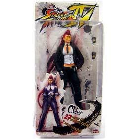 Street Fighter 4 - C. Viper (ABERTA) bonecos colecionáveis da Neca