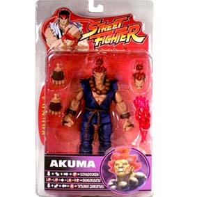 Street Fighter Action Figure Akuma série 4