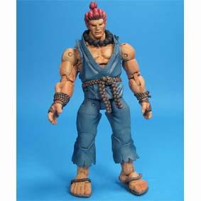 Street Fighter IV Bonecos Neca Toys Brasil :: Boneco do Akuma (aberto)