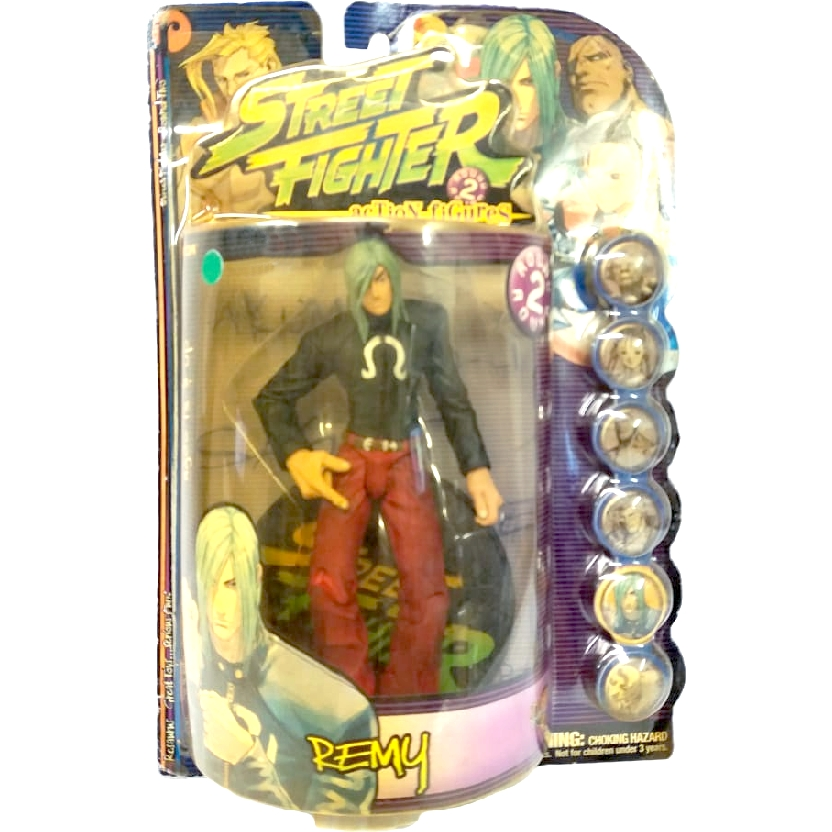 Street Fighter Remy Player 2 (Lacrado) marca Resaurus action figures
