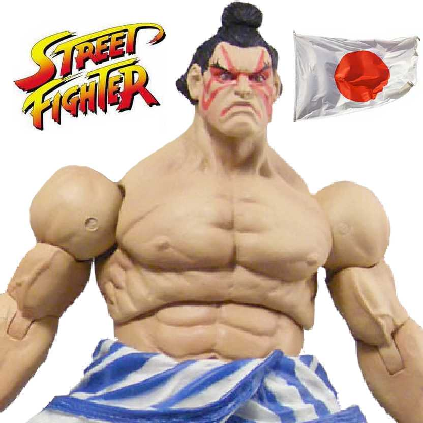 Street Fighter Revolution Edmond Honda: boneco colecionável Sota Toys