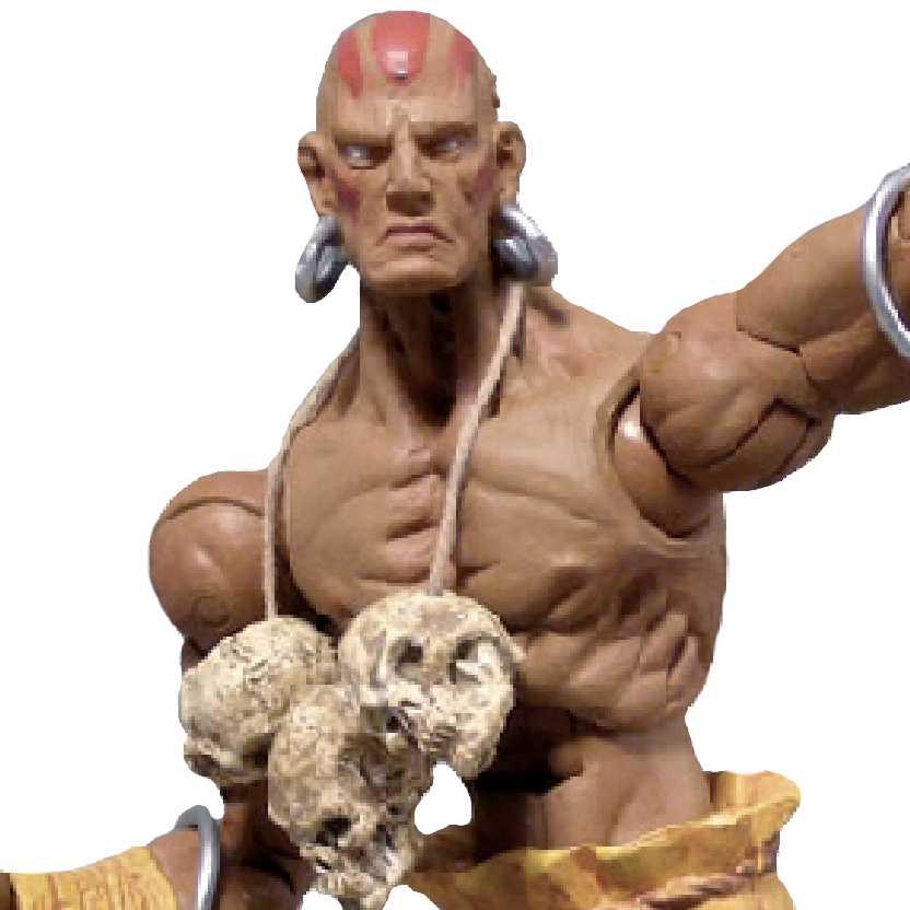 Street Fighter Revolution series 1 Dhalsim marca Sota Toys bonecos colecionáveis