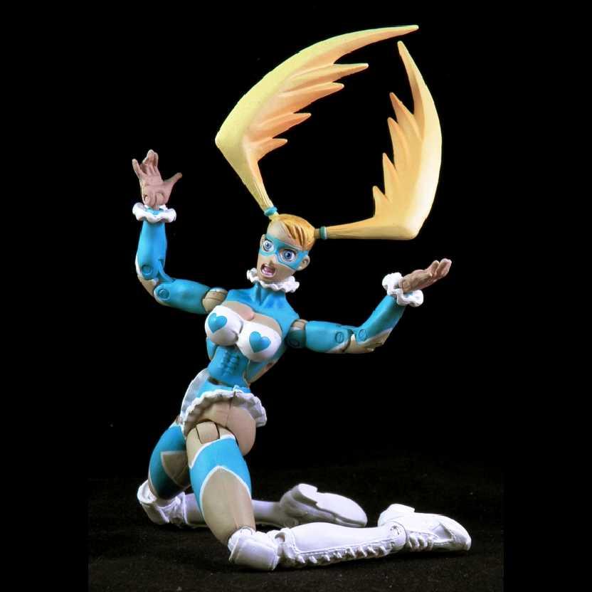 Street Fighter: Revolution series one R. Mika marca Sota Toys bonecos colecionáveis