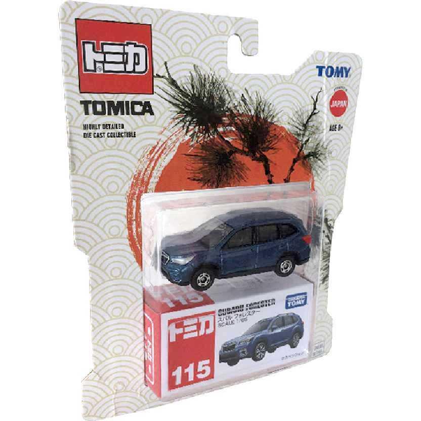 Subaru Forester Tomica Takara / Tomy #115 escala 1/65
