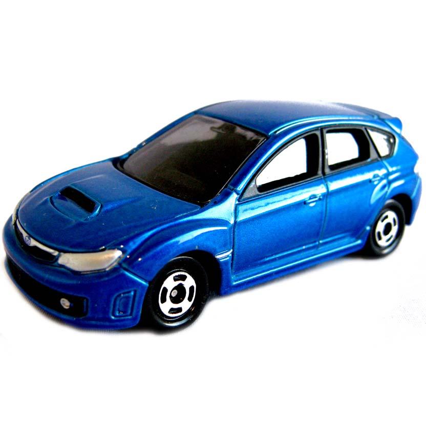Subaru Impreza WRX STI 2008 (aberto) Tomica Tomy #11 escala 1/59