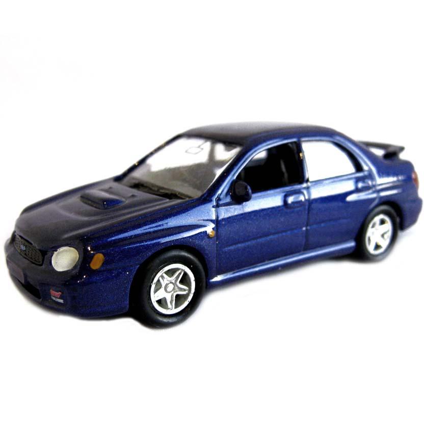 Subaru Impreza WRX STI marca Welly escala 1/64 (aberto)