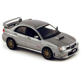 Subaru WRX STI (2006) escala 1/43 da Norev