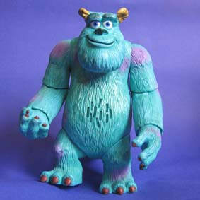 Sulley com som e movimento