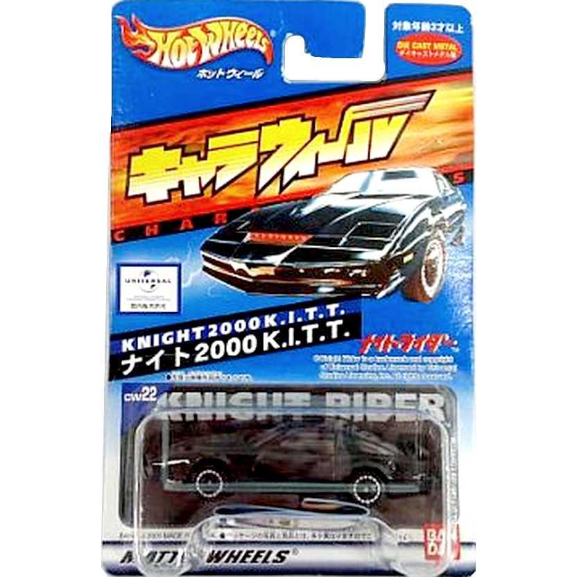 Super Máquina - Knight 2000 K.I.T.T (RARO) Hot Wheels Raro escala 1/64
