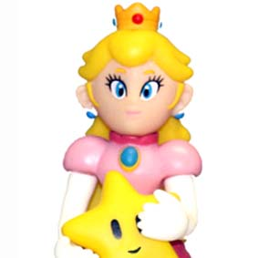 Super Mario Brothers Characters Collection Princesa Peach