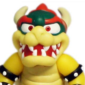 Super Mario Brothers Characters Collection Rei Browser Koopa / King Koopa