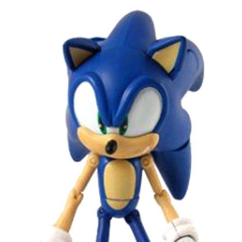 Super Posers Sonic The Hedgehog Action Figure com 25 pontos articuláveis