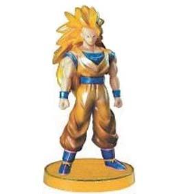 Super Saiyan 3 Goku Bonecos Dragon Ball Z Bandai Real Works