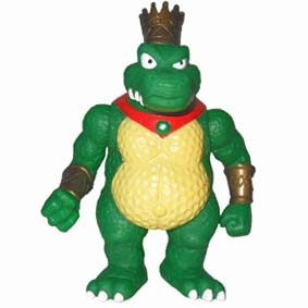 Super Smash Bros. Boneco King K. Roll Donkey Kong Country