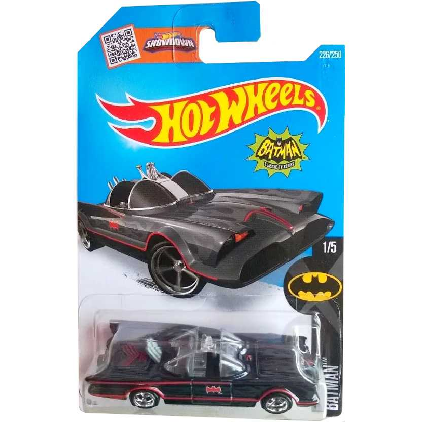 Superized 2016 Hot Wheels TV series Batmobile Super T-Hunt DHT88 226/250 1/5 escala 1/64