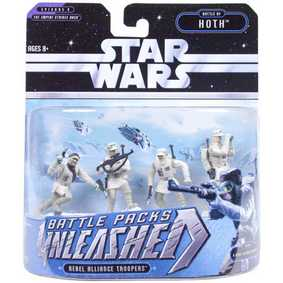 SW - Unleashed : Battle Packs Rebel Alliance Troopers