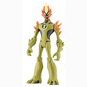 Swampfire do Ben 10 (aberto) + 1 mini figura