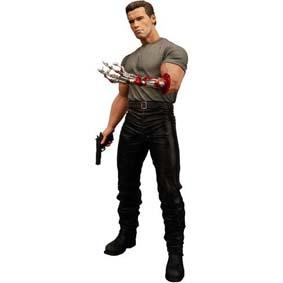 T-800 Arnold Schwarzenegger - Exterminador do Futuro 2 (aberto)