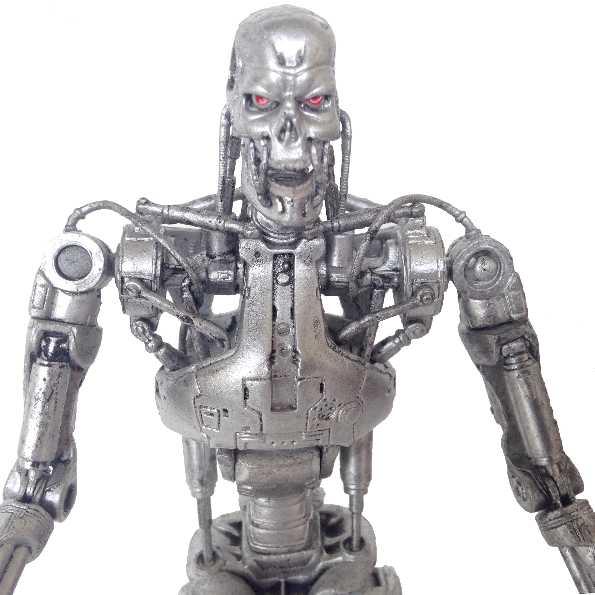 T-800 Endoskeleton (aberto) Boneco Exterminador do Futuro 2 sem embalagem