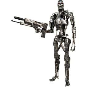 T-800 Endoskeleton - Exterminador do Futuro 2 (aberto)