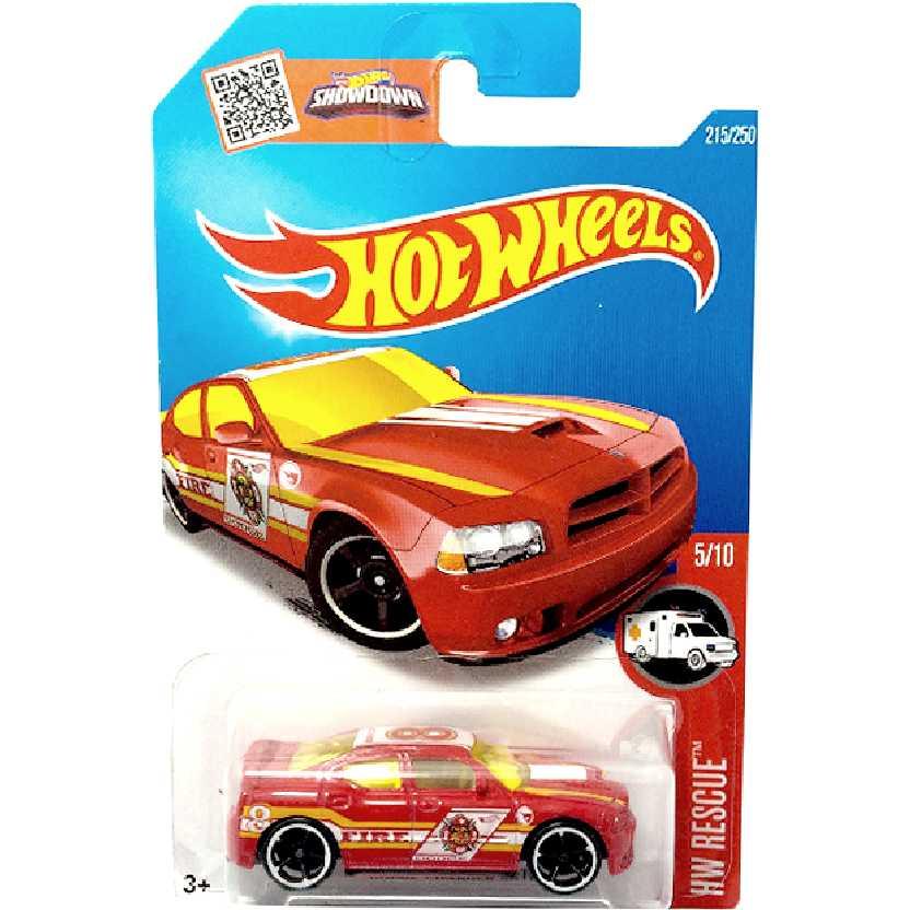 T-Hunt 2016 Hot Wheels Dodge Charger SRT8 series 5/10 215/250 DHT05 escala 1/64